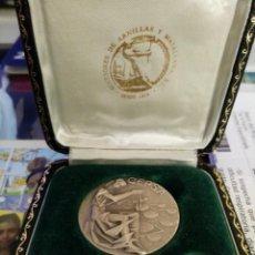 Trofeos y medallas: MONEDA CONMEMORATIVAS DE CEPSA. Lote 235874100