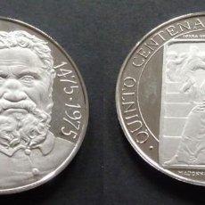 Trofeos y medallas: MONEDA MEDALLA CONMEMORATIVA DE 22 GR. PLATA 925/1000 MICHELANGELO BUONARROTI (MIGUEL ANGEL). Lote 236143725