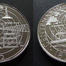 Trofeos y medallas: MONEDA MEDALLA CONMEMORATIVA DE 22 GR. PLATA 925/1000 GUGLIELMO MARCONI 1874 - 1974 RADIO. Lote 236173050