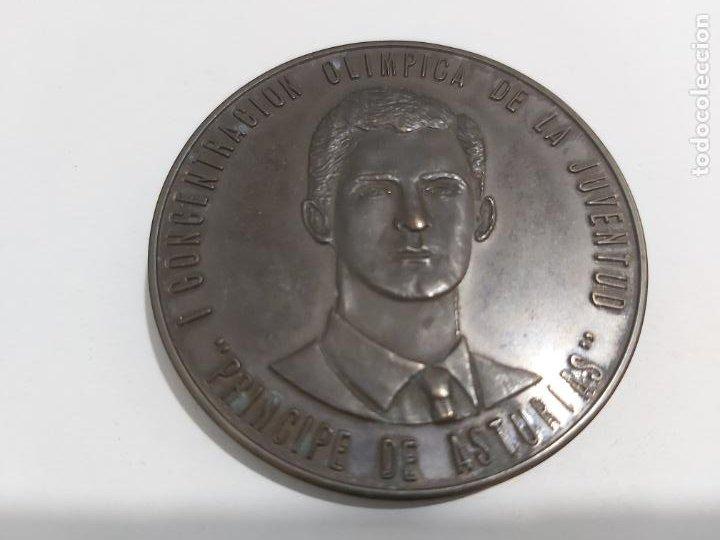 MEDALLA PRINCIPE DE ASTURIAS (Numismática - Medallería - Trofeos y Conmemorativas)