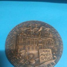 Trofeos y medallas: MEDALLA CONMEMORATIVA DEL BANCO DE BILBAO CXXV. ANIVERSARIO. Lote 236752965
