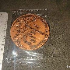 Trofeos y medallas: MEDALLA HISTORIA DE CAPELLADES 1972 , PESO 70 GR . LEER DESCRIPCION. Lote 237209325