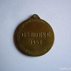 Trofeos y medallas: CARRERA DE DEPENDIENTES DE ULTRAMARINOS OSBORNE 1952 BARCELONA. Lote 237332760