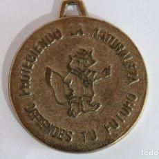 Trofeos y medallas: MEDALLA BRONCE NATURALEZA Y MEDIO AMBIENTE. Lote 238739935