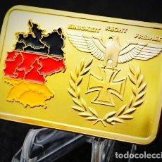 Trofeos y medallas: LINGOTE ORO 24K ALEMAN SEGUNDA GUERRA MUNDIAL. Lote 238671025