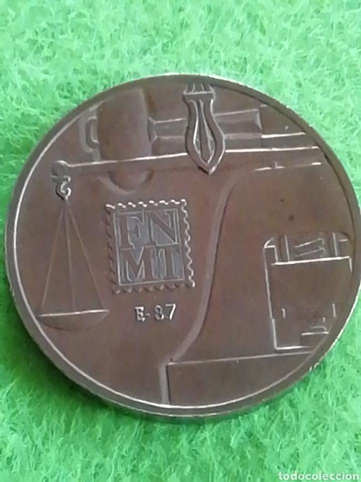 MEDALLA CONMEMORATIVA CECA MADRID. SERIE E 87. ADJUNTO PEDIDOS. ACEPTO OFERTAS. (Numismática - Medallería - Trofeos y Conmemorativas)