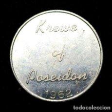 Trofeos y medallas: MEDALLA NUEVA ORLEANS MARDI GRASS KREWE OF POSEIDON MED433. Lote 244396110