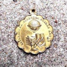 Trofeos y medallas: ANTIGUA MEDALLA METALICA PREMIO A LA APLICACION CIRCA 1920. Lote 244396890