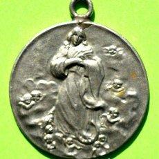 Trofeos y medallas: ANTIGUA MEDALLA 2 CENTENARIO FUNDACION IGLESIA QUILMES 1930. Lote 244397340