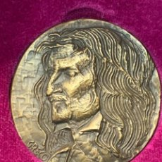 Trofeos y medallas: S.JOHNSON ROMA MEDALLA BRONCE 1968 CENTENARIO BORROMINI SPQR GRECO 5 CMS. Lote 245617540