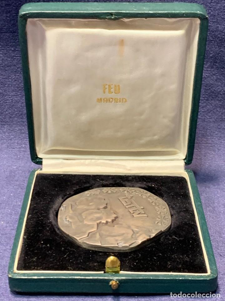 RTVE MEDALLA DIAMETRO 6 CM XVI COPA TOURISPORT MADRID 1973 MIGUEL MARTIN GARCIA ZAMORA DIRECTOR (Numismática - Medallería - Trofeos y Conmemorativas)
