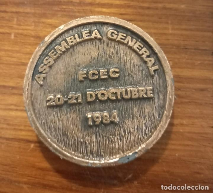Trofeos y medallas: MEDALLA ORFEÓ GRACIENC ASSAMBLEA GENERAL DE 1984 - Foto 2 - 246226515