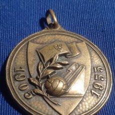 Trofeos y medallas: MEDALLA BODAS DE ORO SEVILLA C.F. Lote 253321830