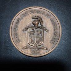 Trofeos y medallas: MEDALLA CLUB GUADALETE PUERTO SANTA MARIA VII EXFILRE-79 ,MEDALLA BRONCE. Lote 253554305