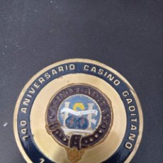 Trofeos y medallas: MEDALLA 140 ANIVERSARIO CASINO GADITANO1844-1984 . EXPOFIL , 75 ANIVERSARIO CADIZ C.F. 1985. Lote 258168305