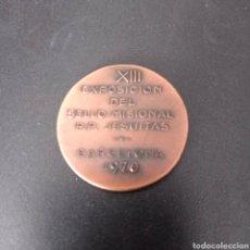 Trofeos y medallas: MEDALLA XIII EXPOSICION DEL SELLO MISIONAL P.P. JESUITAS , BARCELONA 1970. Lote 258171385