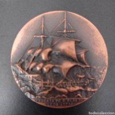 Trofeos y medallas: 2 MEDALLAS IX SALON NAUTICO INTERNACIONAL , BARCELONA 1971. Lote 258175635