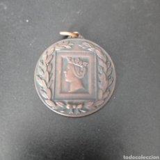 Trofeos y medallas: MEDALLA IV JUEGOS DEL CANTABRICO I CERTAMEN NACIONAL DE FILATELIA DEPORTIVA ,VIZCAYA 1967. Lote 258180185