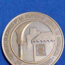 Trofeos y medallas: MEDALLA CAMARAS OFICIALES DE LA PROPIEDAD URBANA ANDALUCÍA. Lote 260706465