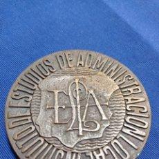 Trofeos y medallas: MEDALLA INSTITUTO ESTUDIOS ADMINISTRACIÓN LOCAL. Lote 260719010