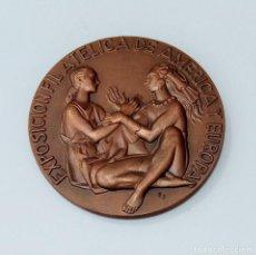Trofeos y medallas: MEDALLA. EXPOSICION FILATELICA DE AMERICA Y EUROPA 1980. Lote 261808365