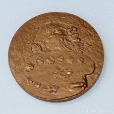 Trofeos y medallas: MEDALLA SIN REFERENCIA. EN RELIEVE PALETA DE PINTOR. Lote 261809585