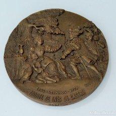 Trofeos y medallas: MEDALLA MORTE DE INES DE CASTRO 1354 - 1979. Lote 261810375