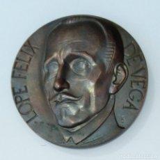 Trofeos y medallas: MEDALLA CONMEMORATIVA. LOPE FELIX DE VEGA EN EL IV CENTENARIO DE SU NACIMIENTO 1562 1962. Lote 261818805