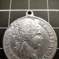 Trofeos y medallas: MEDALLA DE ISABEL II (310). Lote 262308015