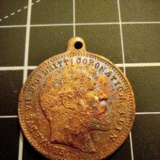 Trofeos y medallas: MEDALLA DE LA CORONACION DE EDUARDO VII - 1911 (313). Lote 262308305