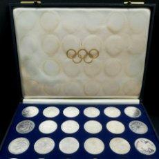 Trofeos y medallas: MONEDAS OLIMPIADAS MUNICH 1972. Lote 263156500