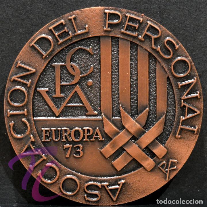 MEDALLA EN BRONCE PREMIO FOTOGRAFIA RAMON FERRAN 1973 REUS TARRAGONA (Numismática - Medallería - Trofeos y Conmemorativas)