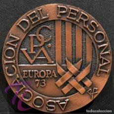 Trofeos y medallas: MEDALLA EN BRONCE PREMIO FOTOGRAFIA RAMON FERRAN 1973 REUS TARRAGONA. Lote 263158380