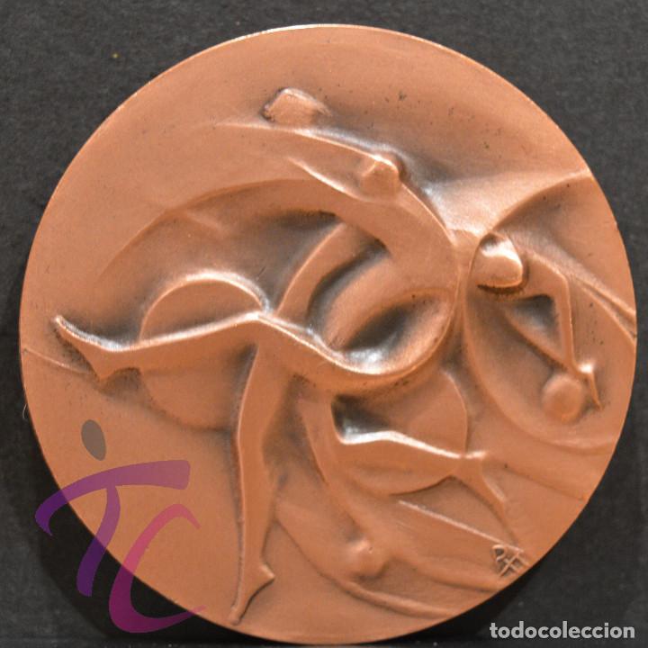 MEDALLA EN BRONCE PREMIO FOTOGRAFIA RAMON FERRAN 1984 REUS TARRAGONA (Numismática - Medallería - Trofeos y Conmemorativas)