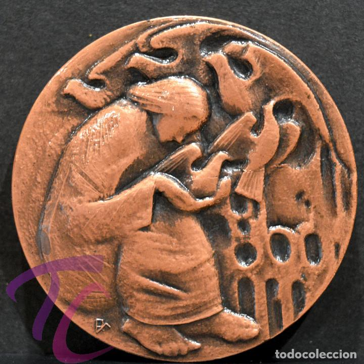 Trofeos y medallas: MEDALLA EN BRONCE PREMIO FOTOGRAFIA RAMON FERRAN 1979 REUS TARRAGONA - Foto 2 - 263162985