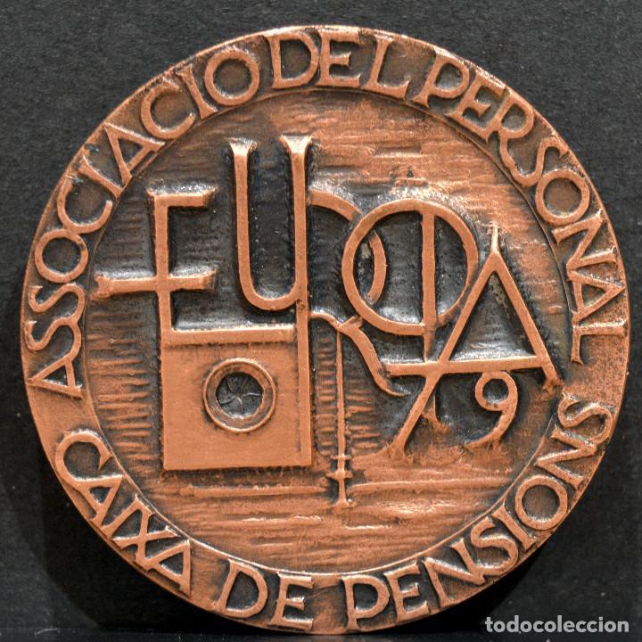 Trofeos y medallas: MEDALLA EN BRONCE PREMIO FOTOGRAFIA RAMON FERRAN 1979 REUS TARRAGONA - Foto 3 - 263162985