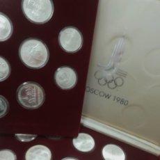 Trofeos y medallas: MEDALLAS(27) OLIMPIADAS RUSIA MOSCÚ 1980. Lote 263192465