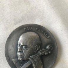 Trofeos y medallas: MEDALLA CONMEMORATIVA / PAU CASALS / EL PESSEBRE - PALAU DE LA MUSICA CATALANA 1968. Lote 263883220