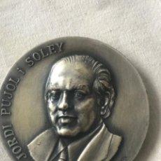 Trofeos y medallas: JORDI PUJOL I SOLEY PRESIDENT DE LA GENERALITAT DE CATALUNYA 1980. Lote 263885415