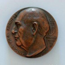 Trofeos y medallas: MEDALLA CONMEMORATIVA. ANTONI VILA ARRUFAT. OBRA PICTORICA EXPOSICIO ANTOLOGICA. Lote 264202964