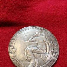 Trofeos y medallas: RARA MEDALLA CONMEMORATIVA 1924 FUNDACIÓN FAC. FILOSOFÍA DE LA UBA - ARGENTINA. Lote 264246960
