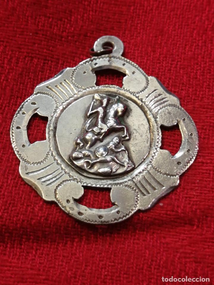MEDALLA DE 1915 – RECUERDO DE SANTIAGO DE COMPOSTELA (GALICIA) (Numismática - Medallería - Trofeos y Conmemorativas)