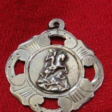 Trofeos y medallas: MEDALLA DE 1915 – RECUERDO DE SANTIAGO DE COMPOSTELA (GALICIA). Lote 264251500