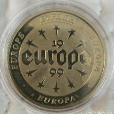 Trofeos y medallas: MEDALLA CONMEMORATIVA EUROPA 1999. Lote 265702684