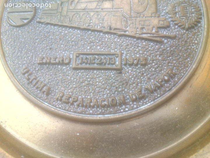 Trofeos y medallas: RENFE FIN DE LA TRACCION VAPOR TALLER CENTRAL DE REPARACION VALLADOLID - Foto 3 - 268444894
