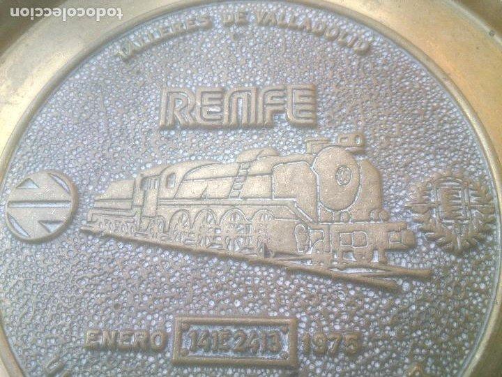 Trofeos y medallas: RENFE FIN DE LA TRACCION VAPOR TALLER CENTRAL DE REPARACION VALLADOLID - Foto 4 - 268444894