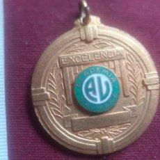 Trofeos y medallas: CUBA. ACADEMIA VALMAÑA. MEDALLA COLEGIAL. Lote 269283448
