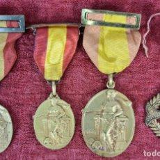 Trofeos y medallas: CONJUNTO DE MEDALLAS ACADEMIA CONDAL. METAL DORADO. AÑOS 50.. Lote 269782113
