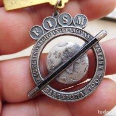 Trofeos y medallas: MEDALLA CONGRESO INTERNACIONAL DE MAGIA BARCELONA AÑO 1964. Lote 269803133