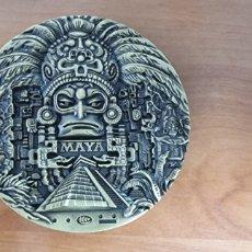 Trofeos y medallas: MEDALLA AZTECA. Lote 269810473